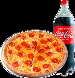 🍕Pizza Classica + Gaseosa Coca Cola de 1.5 lt