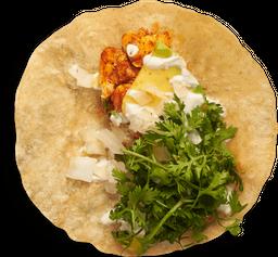 Taco de Pollo Barbacoa