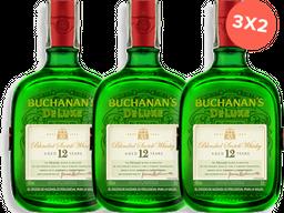 Whisky 12 Años Deluxe Buchanans 3UN