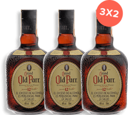 Whisky Old Parr 12 años botella 750ml 3x2