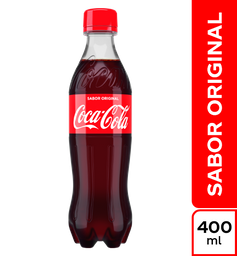 Gaseosa Coca-Cola Sabor Original de 400 Ml