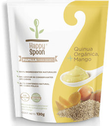 Papilla Mango + Quinua Orgánica