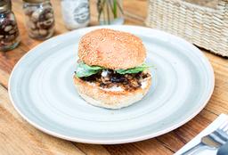 Burger Feta Portobello (Vegetariano)