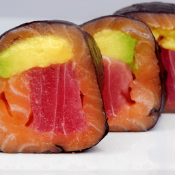 Salmón Tuna sin Arroz