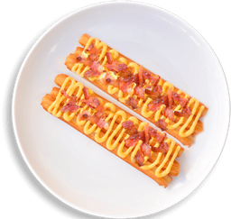 Churros Chesse & Bacon x 6