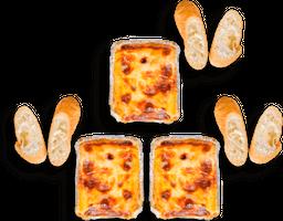 3x2 en lasagnas
