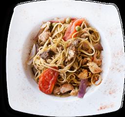 Spaguetti chifa mixto