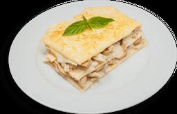Lasagna de Pollo y Champiñon