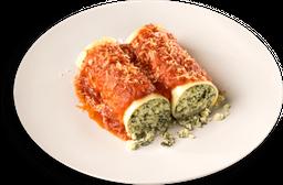 🍲Canelon de Ricotta y espinaca