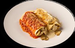 Caneloni de Pollo Di Toscana
