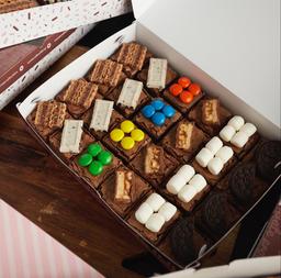 Caja x 24 Mini Brownies