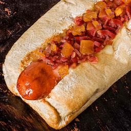 Perro Caliente Frankfurt Bacon