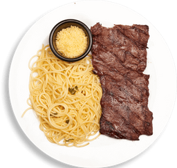 Steak Pasta Alioli