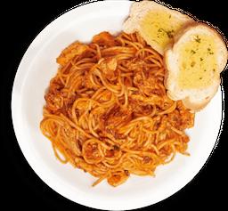 Spaghetti con Pollo Infantil