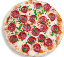 Pizza Salami y Pimentón