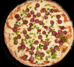 Pizza con Cábano y Pimentón