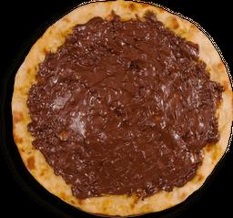 Pizza con Chocolate
