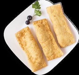 Flautas pollo-queso