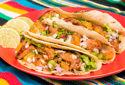 Taco Al pastor x3