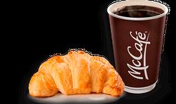 Combo Croissant con Café