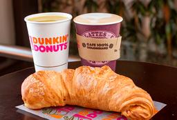 🥐 Croissant + ☕ Cappuccino + 🍹 Jugo de Naranja