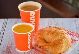 Croissant + Cappuccino + Jugo de Naranja