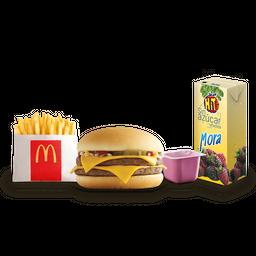 👶🏻 Junior pack hamburguesa doble
