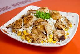 Corny chicken