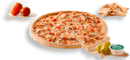 Pizza Personal Ranch Pollo & Tocineta