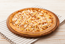 Pizza Personal Hawaiana Pollo BBQ