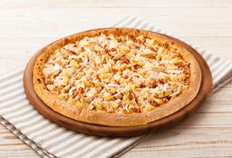 Pizza Mediana Hawaiana Pollo BBQ