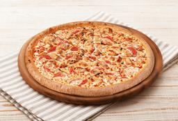 Pizza Mediana Espinaca Alfredo Deluxe