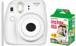 Instax Mini 9 aFilom twin pack (white)