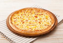 Pizza Masa Delgada Hawaiana