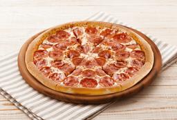 Pizza Masa Delgada Pepperoni Pizzazz
