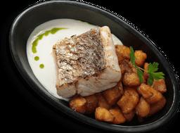 🐟 Filete de Pescado con Maduritos Salteados