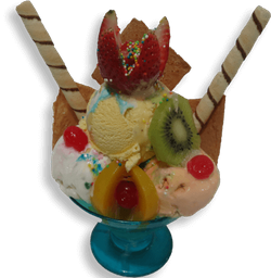 Mega Ice Cream Copa
