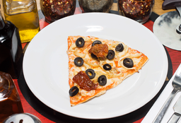 Pizza Mediterránea Fit