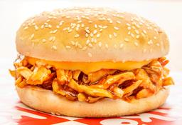 Sándwich de Pollo BBQ