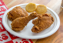 🍗3 Presas Pollo Apanado