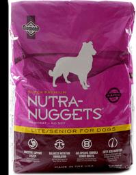 Nutra nuggets lite bolsa rosa 15 kg