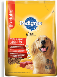 Pedigree vital protect adulto e3 8 kg