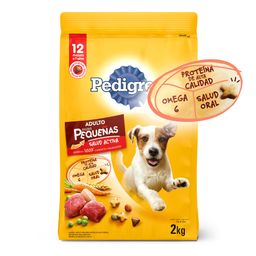 Alimento Perros Seco- Pedigree-Raza Pequeña- 2Kg