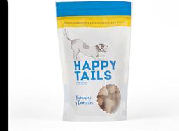 Galletas happy tails banano & canela 180 gr