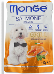 Monge grill with salmon sobre 100gr