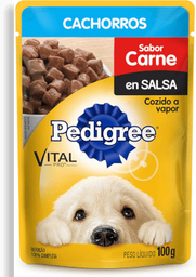 Pedigree pouch cachorro carne en salsa 100 gr