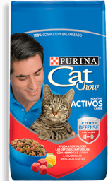 Cat chow adulto activo 500 gr