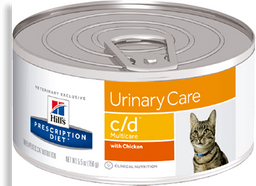 Feline c/d multi chicken lata 5.5 oz