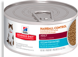 Feline Hair Control Adult Seafood Lata 5.5 Oz