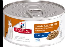 Feline Adult 7+ Turkey 5.5 Oz